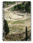 Dionysus Amphitheater Spiral Notebook