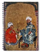 Dioscorides And Student Spiral Notebook