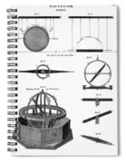 Dipping Needle Compass Spiral Notebook