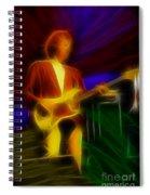 Dire Straits-gd-14a-fractal Spiral Notebook