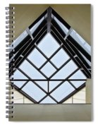 Directional Symmetry Spiral Notebook