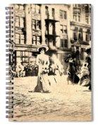 Directoire Gown - Philadelphia Mummers 1909 Spiral Notebook