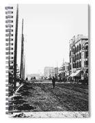 Downtown Dirt Spokane C. 1895 Spiral Notebook