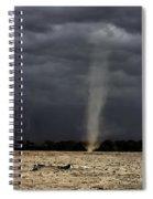 Dirt Devil During Drought Spiral Notebook