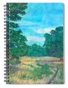 Dirt Road Near Rock Castle Gorge Spiral Notebook