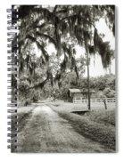 Dirt Road On Coosaw Plantation Spiral Notebook