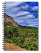 Dirt Roads And Aspen Forest In Colorado Spiral Notebook