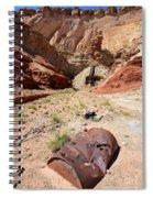 Dirty Devil Mine San Rafael Swell - Utah Spiral Notebook