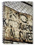 Disallowed Spiral Notebook
