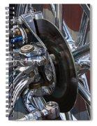 Disc Brakes Hot Rod Spiral Notebook