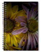 Discarded Bouquet Spiral Notebook