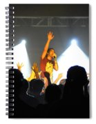 Disciple-front View-0361 Spiral Notebook