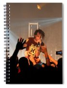 Disciple-front View-0371 Spiral Notebook
