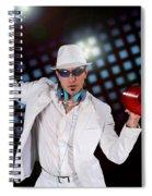 Disco Dj Spiral Notebook