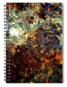 Discovery - Abstract 002 Spiral Notebook