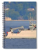 Discovery Bay Military Ops Ship Spiral Notebook