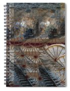 Discovery Of The Wheel Spiral Notebook