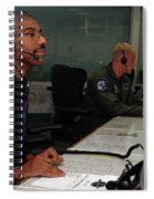 Discovery Space Shuttle Control Room Spiral Notebook