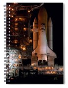 Discovery Space Shuttle Spiral Notebook