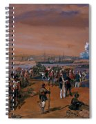 Disembarkation - Kerch, 24 May 1855 Spiral Notebook