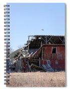 Disintegration Spiral Notebook