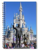 Disney And Mickey Spiral Notebook