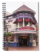 Disney Clothiers Main Street Disneyland 02 Spiral Notebook