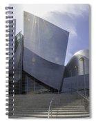 Disney Concert Hall Los Angeles Spiral Notebook