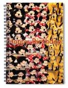 Disney Cuddlies Spiral Notebook
