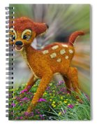 Disney Floral Bambi Spiral Notebook