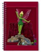 Disney Floral Tinker Bell 01 Spiral Notebook