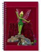 Disney Floral Tinker Bell 02 Spiral Notebook