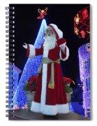 Disney Santa Spiral Notebook