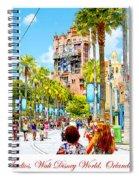 Disney Studios Walt Disney World Orlando Florida Spiral Notebook