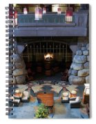 Disneyland Grand Californian Hotel Fireplace 01 Spiral Notebook