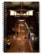 Disneyland Grand Californian Hotel Front Desk 02 Spiral Notebook