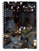 Disneyland Grand Californian Hotel Lobby 01 Spiral Notebook