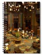 Disneyland Grand Californian Hotel Lobby 04 Spiral Notebook