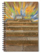 Display Hall At Apollo Sanctuary  Spiral Notebook