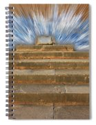 Display Hall At Temple Of Apollo Hylates Spiral Notebook