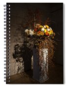 Displaying Mother Nature's Autumn Abundance Of Flowers And Colors Spiral Notebook
