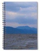 Distant Hills At Loch Ness Spiral Notebook