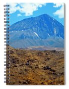 Distant Peaks Spiral Notebook