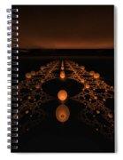 Distant Runway Spiral Notebook