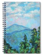 Distant View Of Peaks Of Otter Spiral Notebook