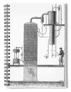 Distillation, 19th Century Spiral Notebook