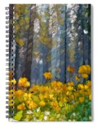Distorted Dreams By Day Spiral Notebook