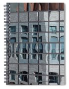 Distorted Reflections Spiral Notebook