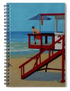 Distracted Lifeguard Spiral Notebook
