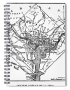 District Of Columbia, 1801 Spiral Notebook
